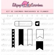 Kit de Carimbos - Marcadores Planner