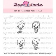 Kit de Carimbos - Mini Dolls (LILIPOP CARIMBOS)