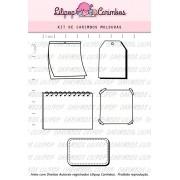 Kit de Carimbos - Molduras (LILIPOP CARIMBOS)
