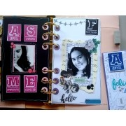 Kit de Carimbos - Momentos (Scrapbook by Tamy)