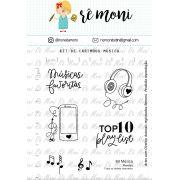 Kit de Carimbos - Música - Remoni