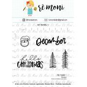 Kit de Carimbos - Natal 1 (novo) - Remoni