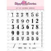 Kit de Carimbos - Números (LILIPOP CARIMBOS)