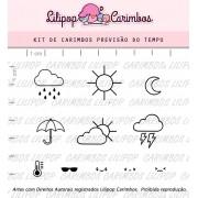 Kit de Carimbos - Previsão do Tempo (LILIPOP CARIMBOS)