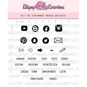 Kit de Carimbos - Redes Sociais 2