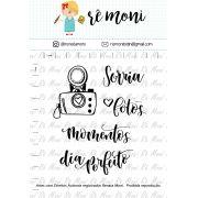 Kit de Carimbos - Sorria
