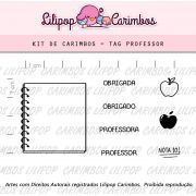 Kit  de Carimbos - Tag Professor