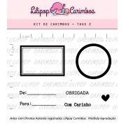 Kit  de Carimbos - Tags 2