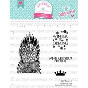 Kit de Carimbos Trono 1 -  Scrapbook by Tamy  (OUTLET)
