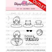 Kit de Carimbos - Verão (LILIPOP CARIMBOS)