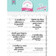 Kit de Carimbos Versículos -  Scrapbook by Tamy