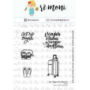 Kit de Carimbos - Viagem by  Remoni