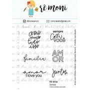 Kit de Carimbos XG - Amor (Remoni)