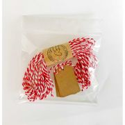 Kit Tags com Barbante  (LILIPOP CARIMBOS)