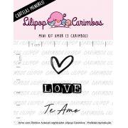 LINHA MINI - Amor (LILIPOP CARIMBOS)