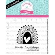 LINHA MINI -  Arco-íris Felicidade  - Scrapbook by Tamy