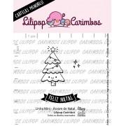LINHA MINI - Árvore de Natal - Lilipop Carimbos (Coleção Natal 2020)