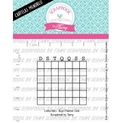 LINHA MINI - Bujo Planner Grid - Scrapbook by Tamy