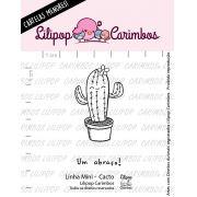 LINHA MINI - Cacto  - Lilipop Carimbos