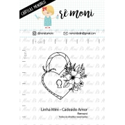 LINHA MINI - Cadeado Amor (Remoni)