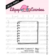LINHA MINI - Caderno 2 - Lilipop Carimbos