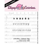 LINHA MINI - Cadernos - Lilipop Carimbos