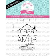 LINHA MINI - Casa do Amor (Scrapbook by Tamy)