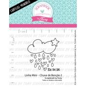 LINHA MINI -  Chuva de Bênção 2  - Scrapbook by Tamy