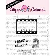 LINHA MINI -  Cinema - Lilipop Carimbos