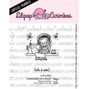 LINHA MINI - Costurando com Amor - Lilipop Carimbos (lançamento)
