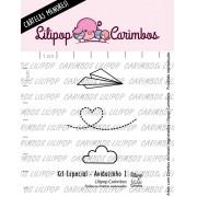 LINHA  MINI ESPECIAL (PINK FRIDAY) AVIÃOZINHO 1 - Lilipop Carimbos