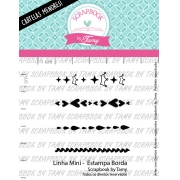 LINHA MINI -  Estampa Borda - Scrapbook by Tamy