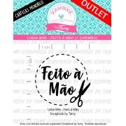 LINHA MINI - Feito à Mão (Scrapbook by Tamy)
