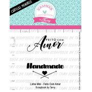 LINHA MINI - Feito com Amor - Scrapbook by Tamy