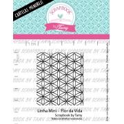 LINHA MINI -  Flor da Vida - Scrapbook by Tamy