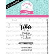 LINHA MINI - Grey's - Scrapbook by Tamy