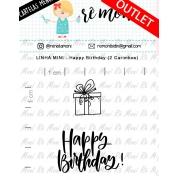 LINHA MINI - Happy Birthday (Remoni)