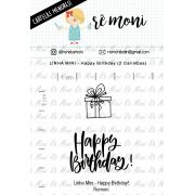LINHA MINI - Happy Birthday (Remoni)