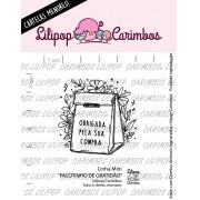 LINHA MINI - Pacotinho de Gratidão - Lilipop Carimbos