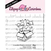 LINHA MINI -  Produto Artesanal - Lilipop Carimbos