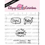 LINHA MINI - Professor 1 - Lilipop Carimbos