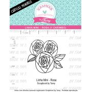 LINHA MINI - Rosa (Scrapbook by Tamy)