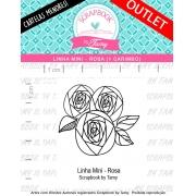 LINHA MINI - Rosa (Scrapbook by Tamy)