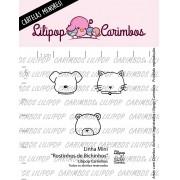 LINHA MINI - Rostinhos de Bichinhos - Lilipop Carimbos