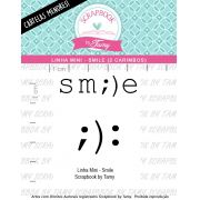 LINHA MINI - Smile (Scrapbook by Tamy)