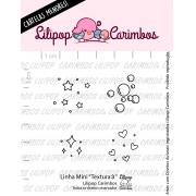 LINHA MINI - Textura 3 - Lilipop Carimbos