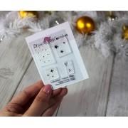 LINHA MINI - Textura - Lilipop Carimbos (Coleção Natal 2020)
