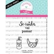 LINHA MINI - Vai Passar - Scrapbook by Tamy