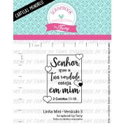 LINHA MINI - Versículo 3 - Scrapbook by Tamy