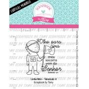LINHA MINI -  Versículo 4  - Scrapbook by Tamy